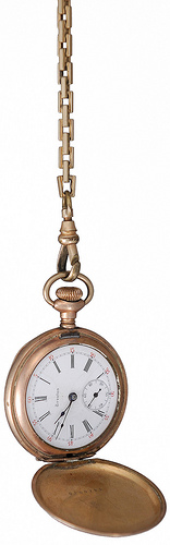 Elgin Pocket Watch. We are experts in appraising Elgin, Waltham, Illinois, Hampden, South Bend, Patek Philippe, Audemars Piguet, Vacheron Constantin and other fine pocket watches.